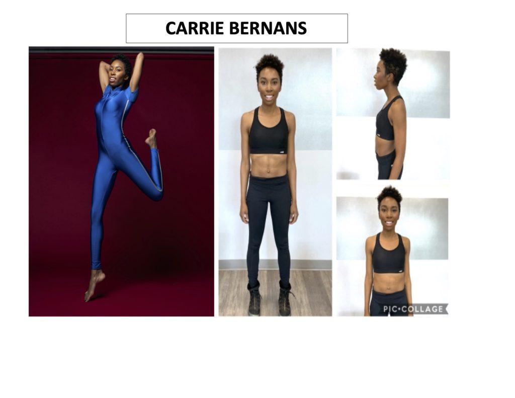 CARRIE BERNANS acting headshot